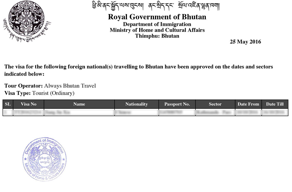 tourism policy of bhutan pdf